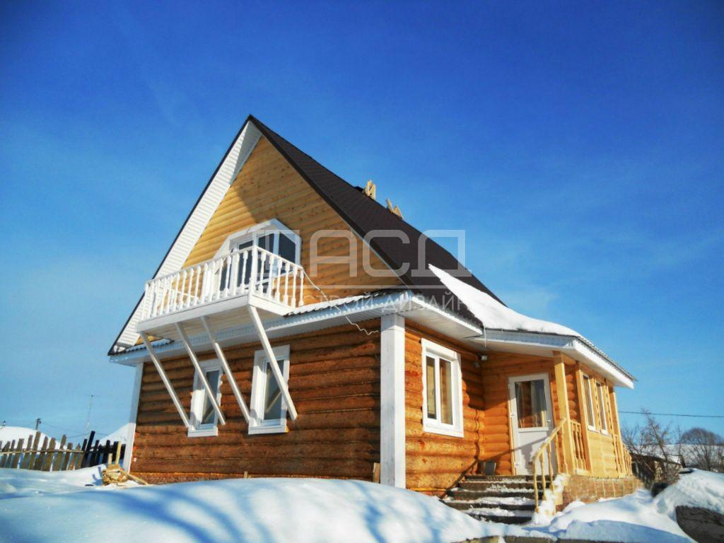 Бревенчатый дом в Котельниках
