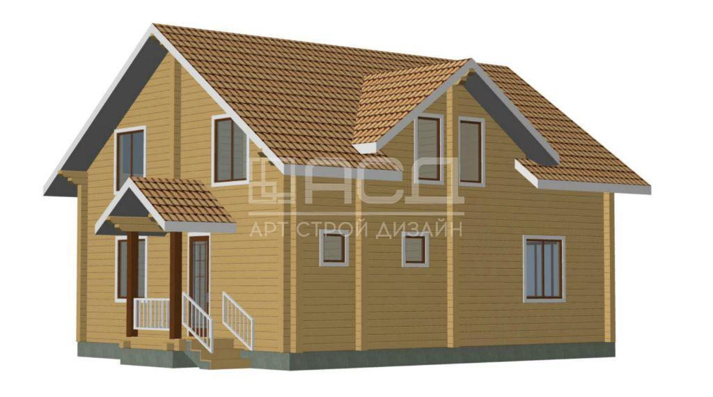 Проектные работы по дому из клееного бруса - 3