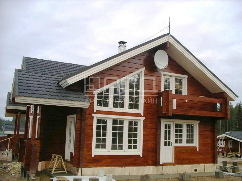 Дом из клееного бруса во Фрязино