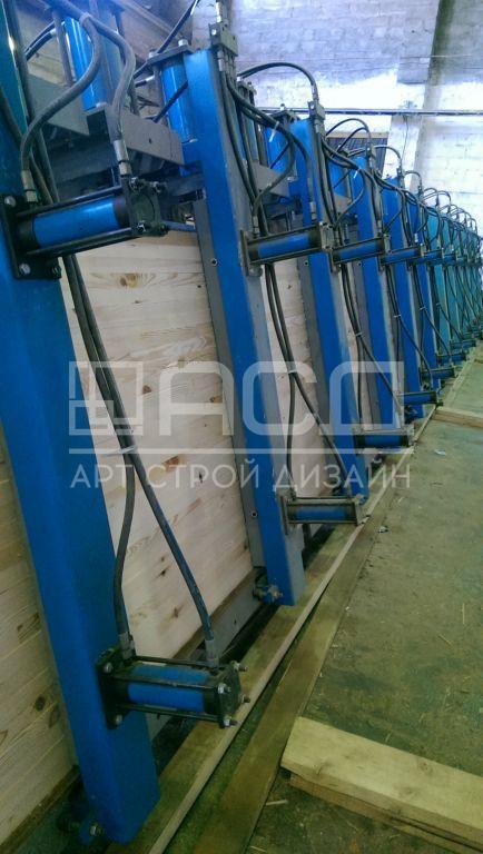 Производство клееного бруса - 2