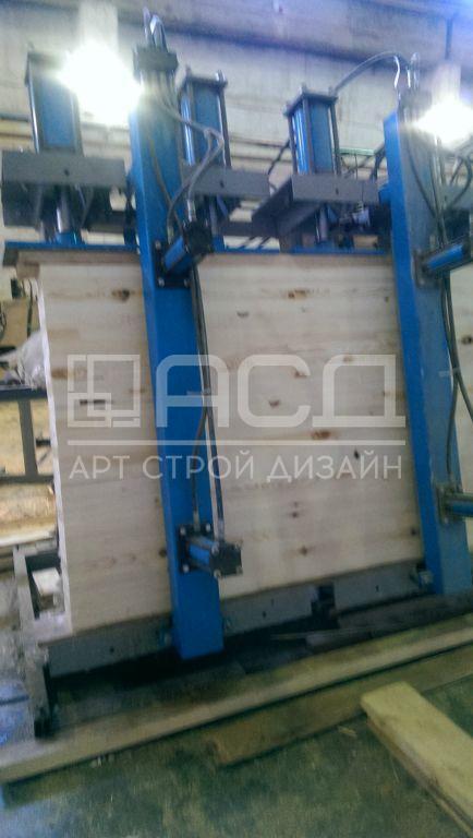 Производство клееного бруса - 4