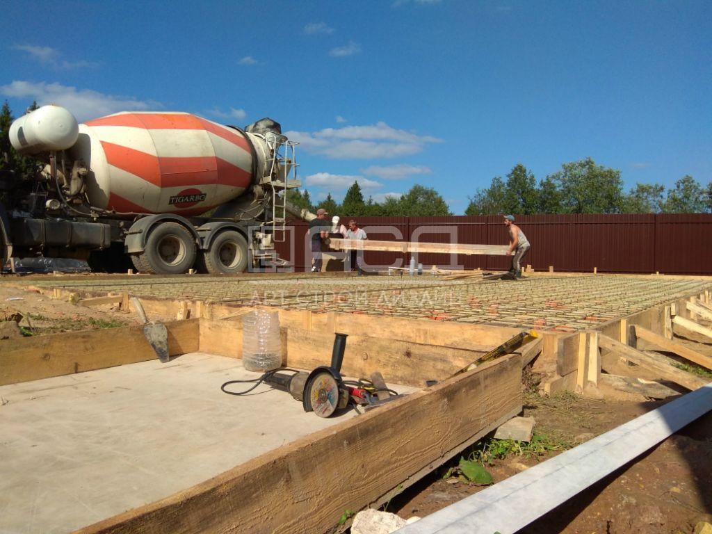 Строительство фундамента под гараж - 1