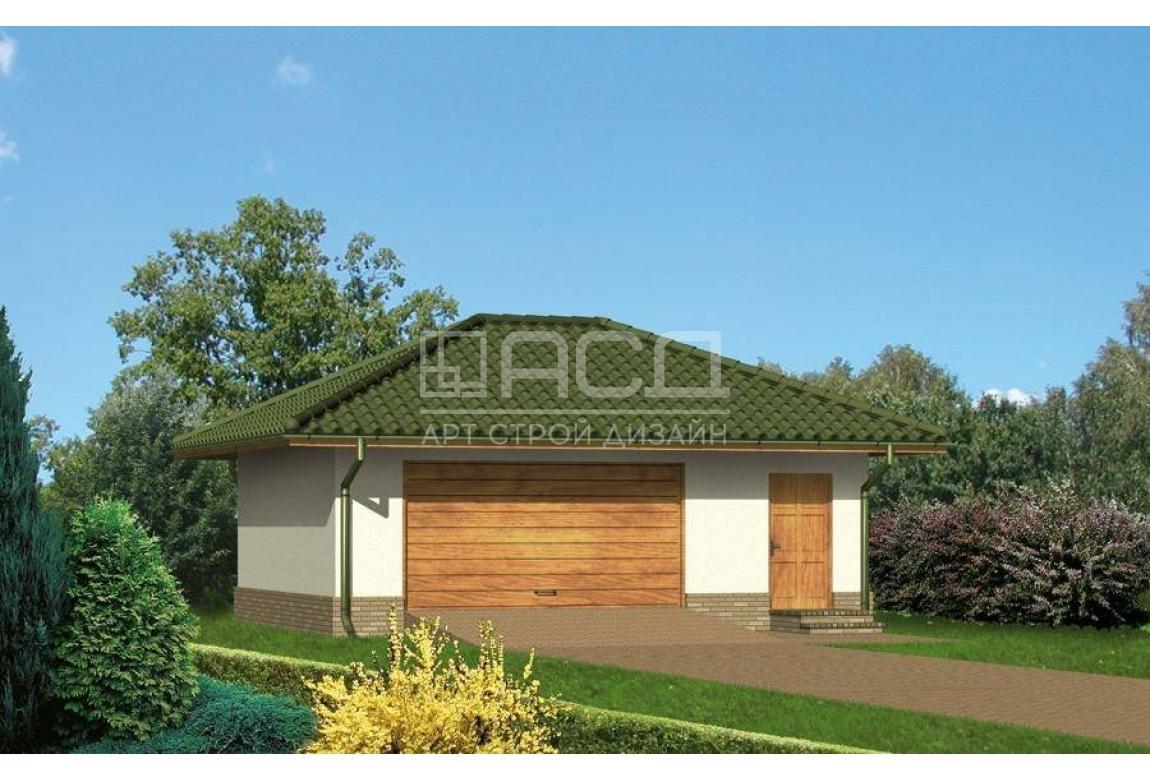 Проект гаража Г-14Ц