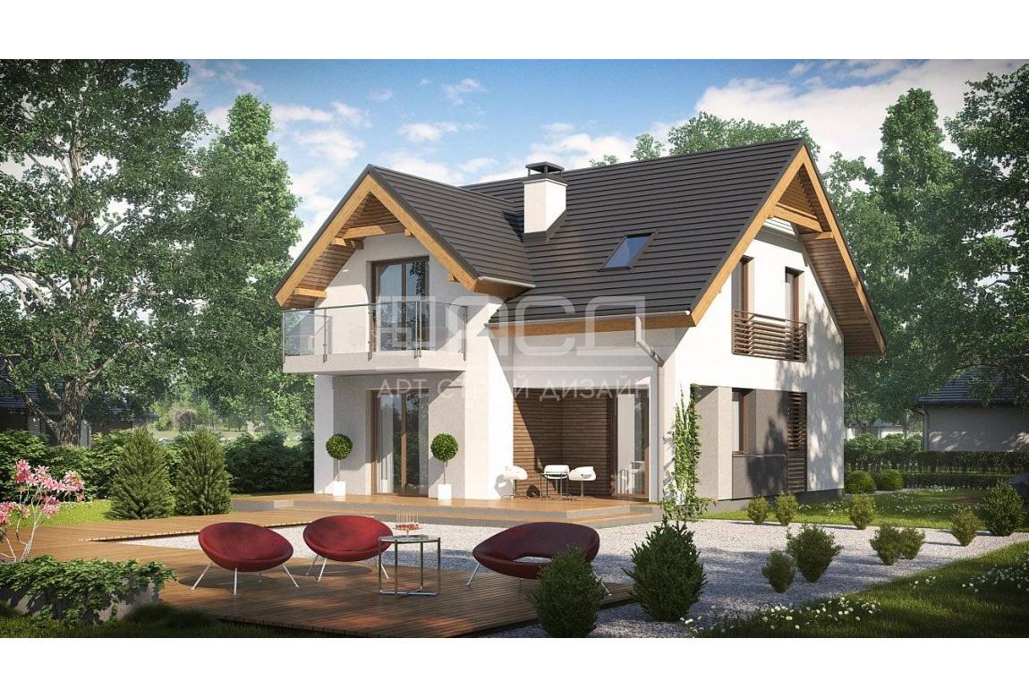 Проект дома N120 из СИП панелей