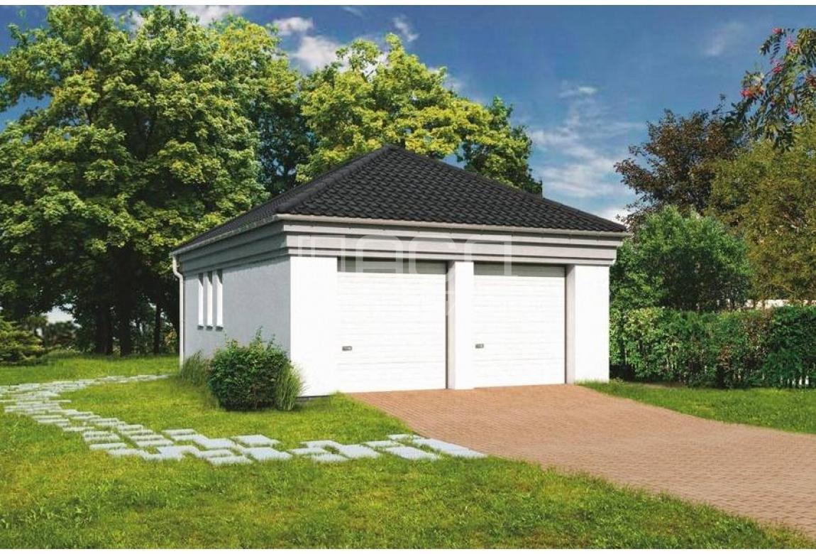 Проект гаража Г-08
