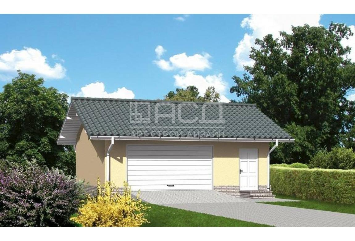Проект гаража Г-14Б