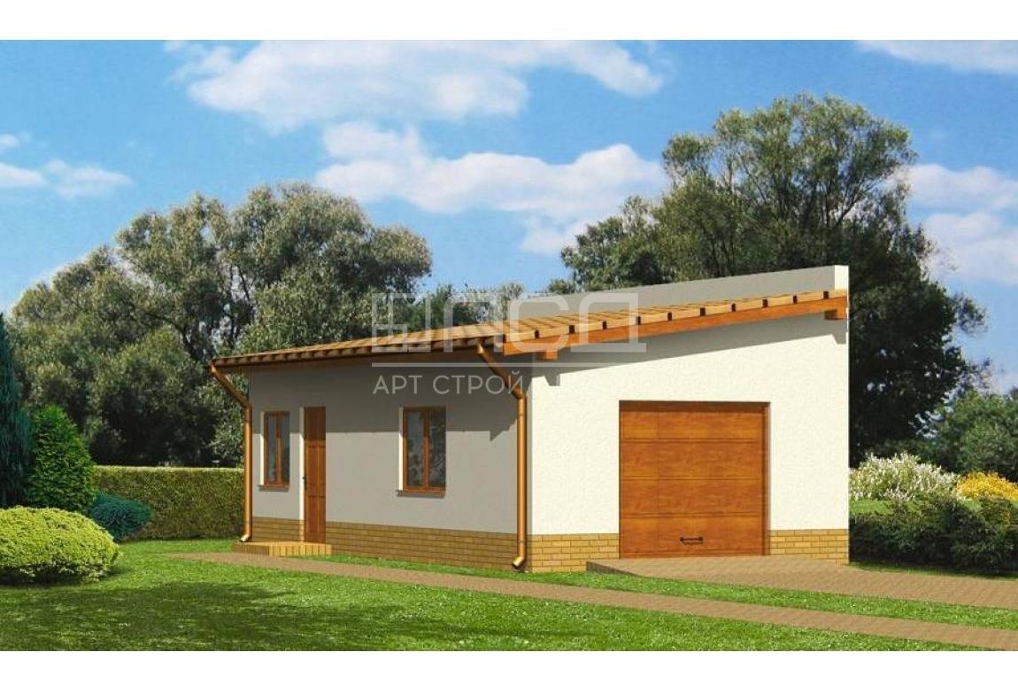 Проект гаража ГЦ-12