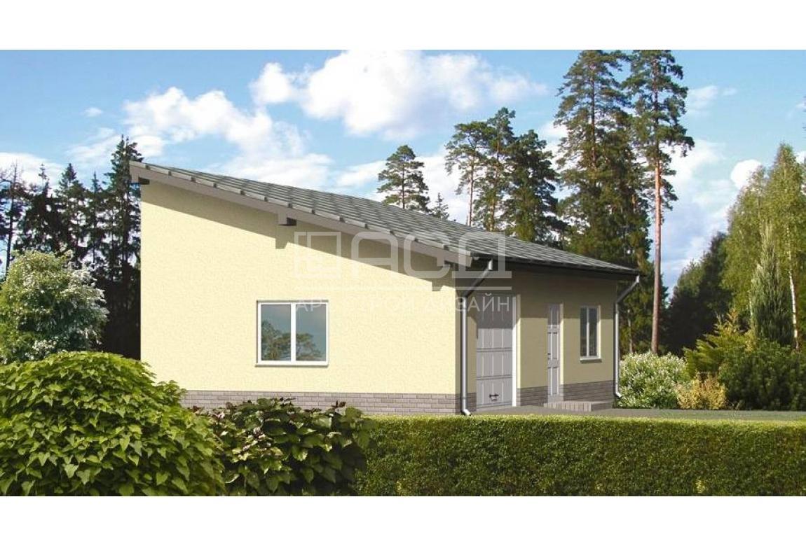 Проект гаража ГЦ-09А