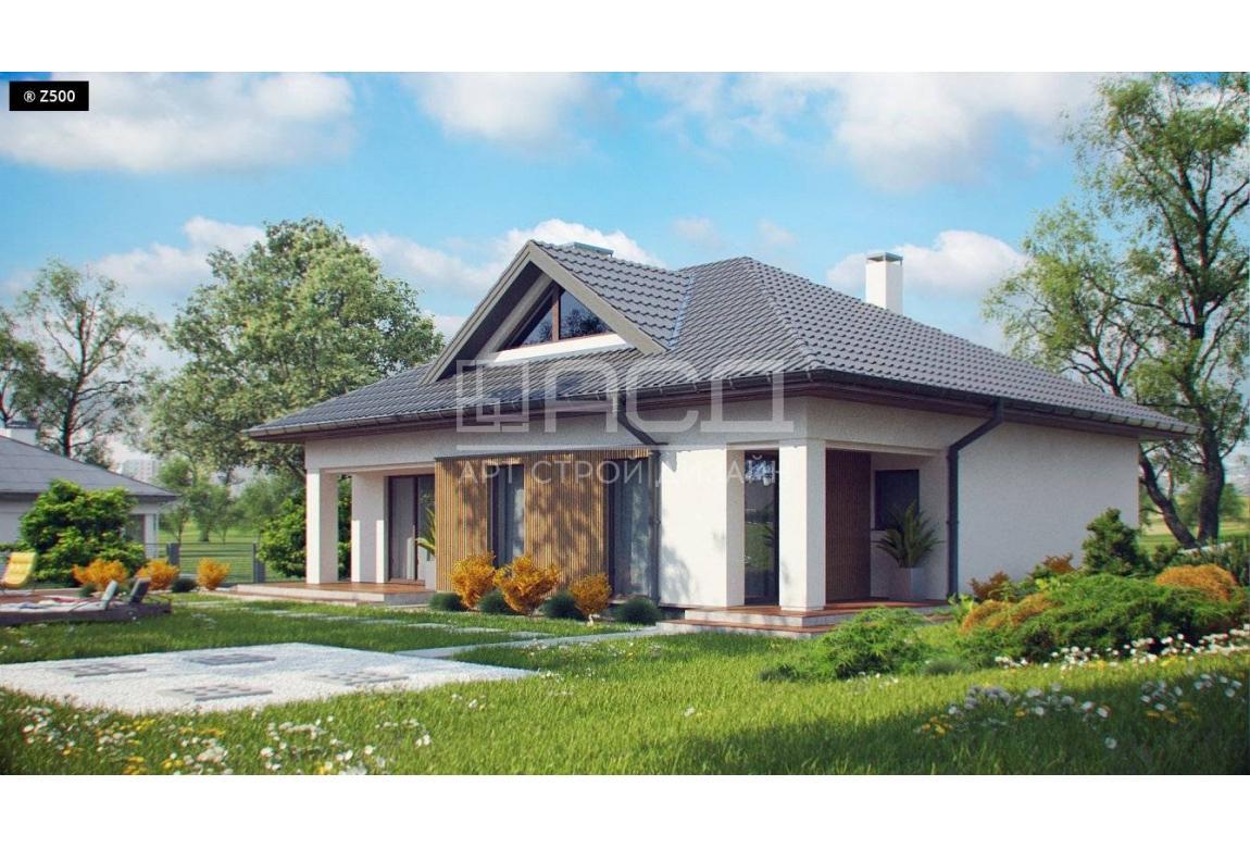 Проект дома N121 из СИП панелей