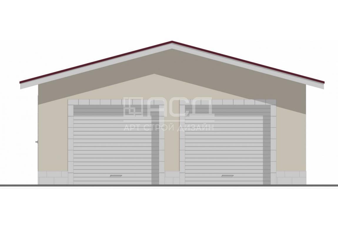 Проект гаража ГР-011
