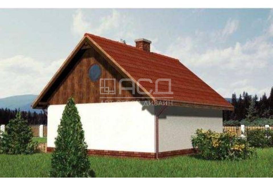 Проект гаража №22