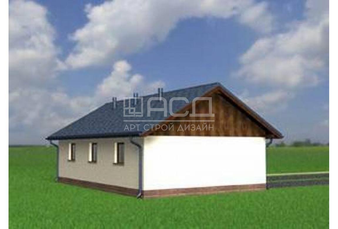 Проект гаража №20