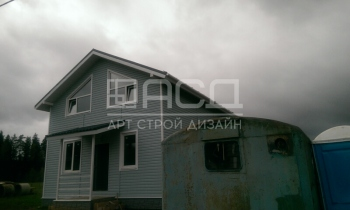 Каркасный дом с сайдингом в Лосино-Петровском
