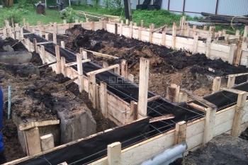 Ленточный фундамент в Красногорском районе