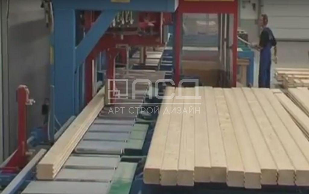 Производство клееного бруса - 1
