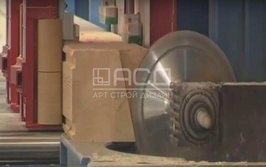 Производство клееного бруса - 10