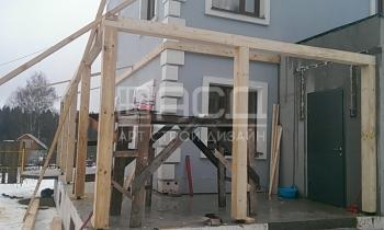 Строительство дома из газобетона в Дубне