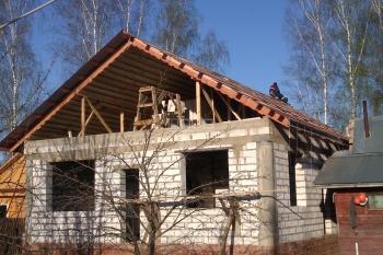 Строительство дома из газобетонных блоков в Мытищенском районе