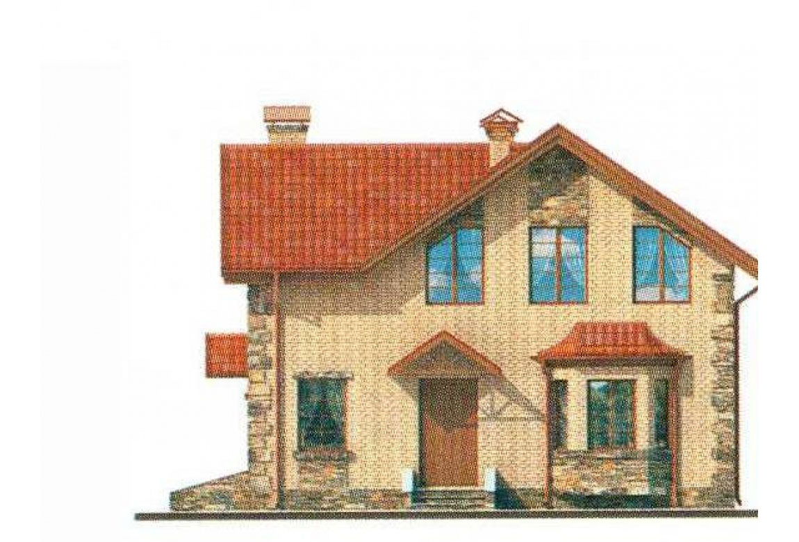 Проект дома из кирпича АСД-1001 (uploads/gss/goods/1/big_3.jpg).