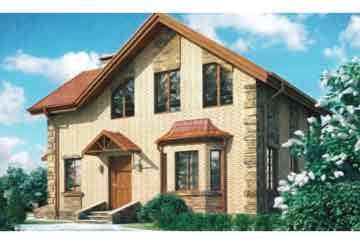 Проект кирпичного дома АСД-1001