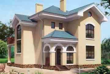 Проект кирпичного дома АСД-1010
