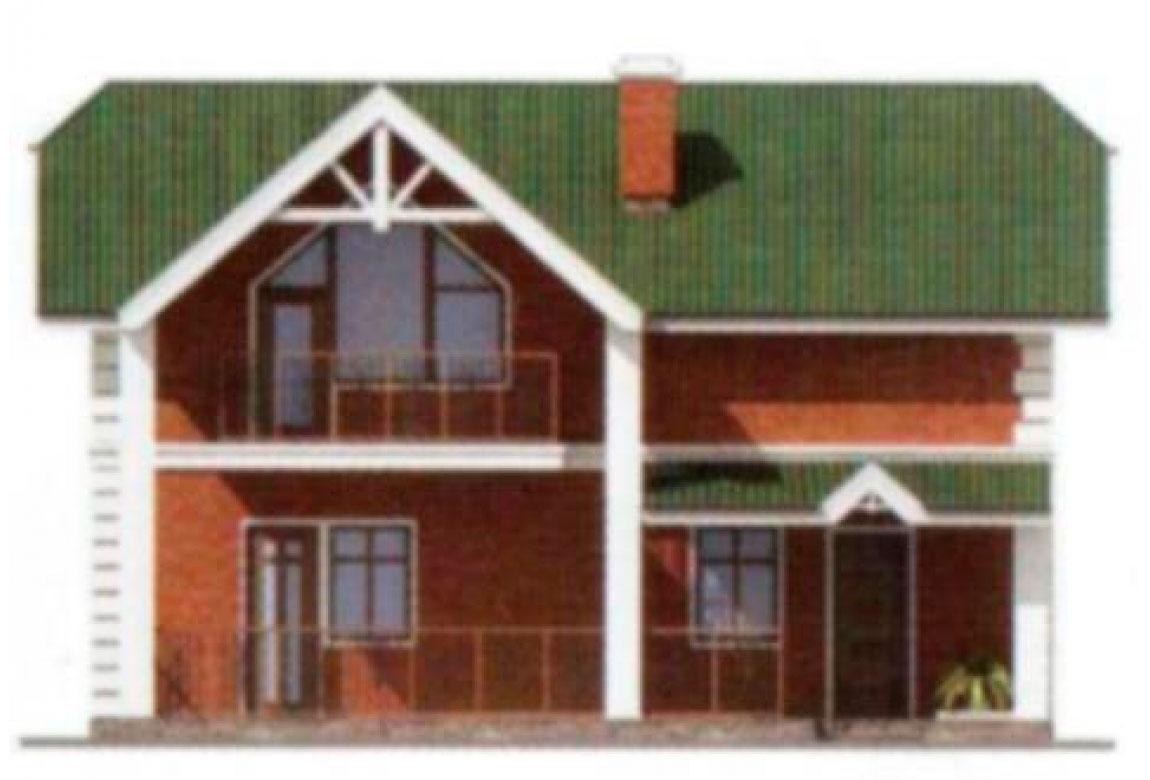 Проект дома из блоков АСД-1102 (uploads/gss/goods/102/big_5.jpg).
