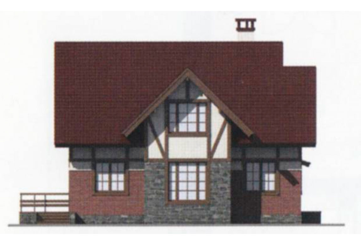 Проект дома из блоков АСД-1107 (uploads/gss/goods/107/big_2.jpg).
