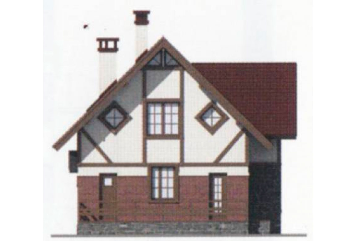 Проект дома из блоков АСД-1107 (uploads/gss/goods/107/big_3.jpg).