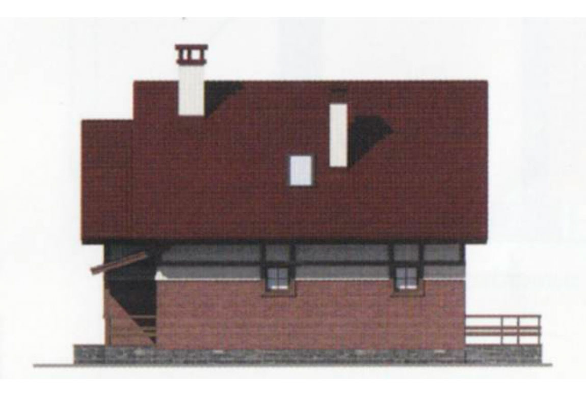 Проект дома из блоков АСД-1107 (uploads/gss/goods/107/big_4.jpg).