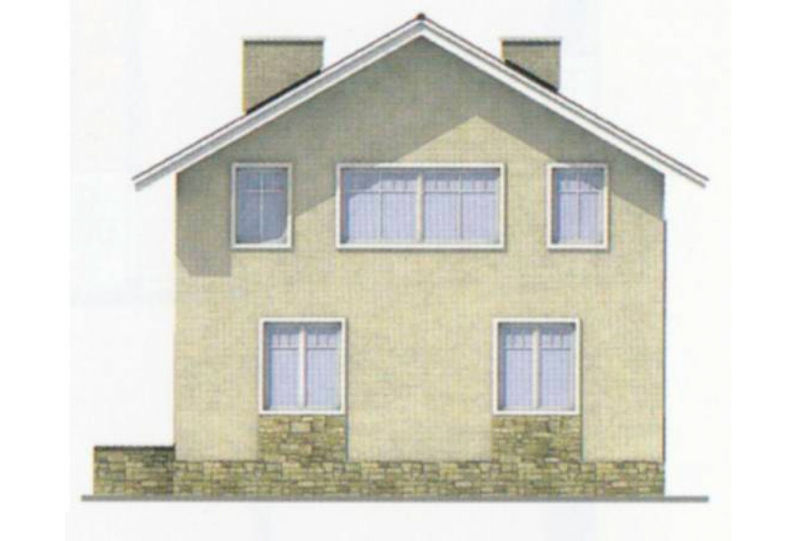 Проект дома из блоков АСД-1108 (uploads/gss/goods/108/big_3.jpg).