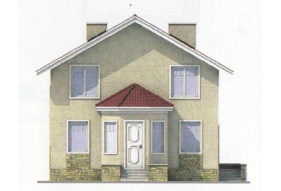 Проект дома из блоков АСД-1108 (uploads/gss/goods/108/big_4.jpg).