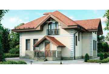 Проект кирпичного дома АСД-1011