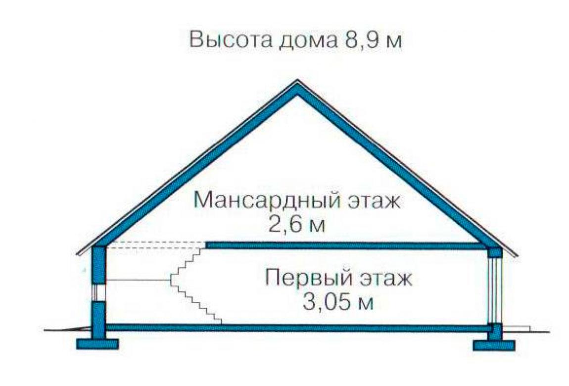 План N3 проекта кирпичного дома АСД-1011