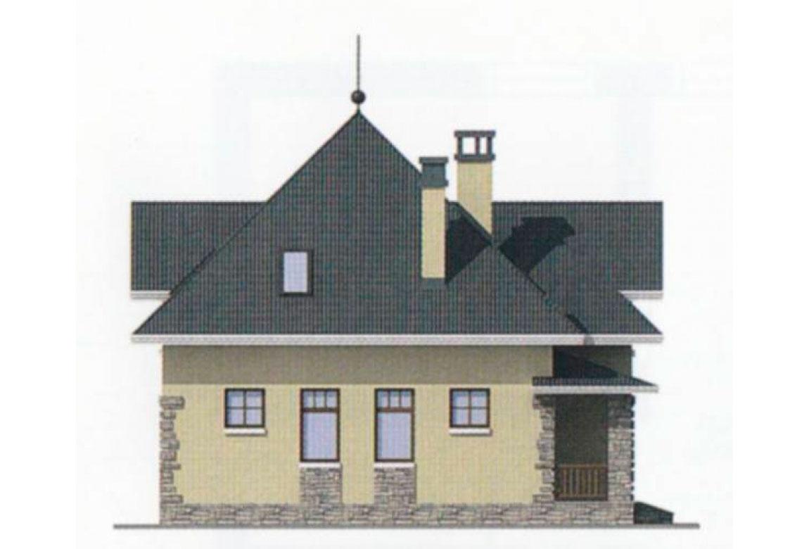 Проект дома из блоков АСД-1110 (uploads/gss/goods/110/big_2.jpg).