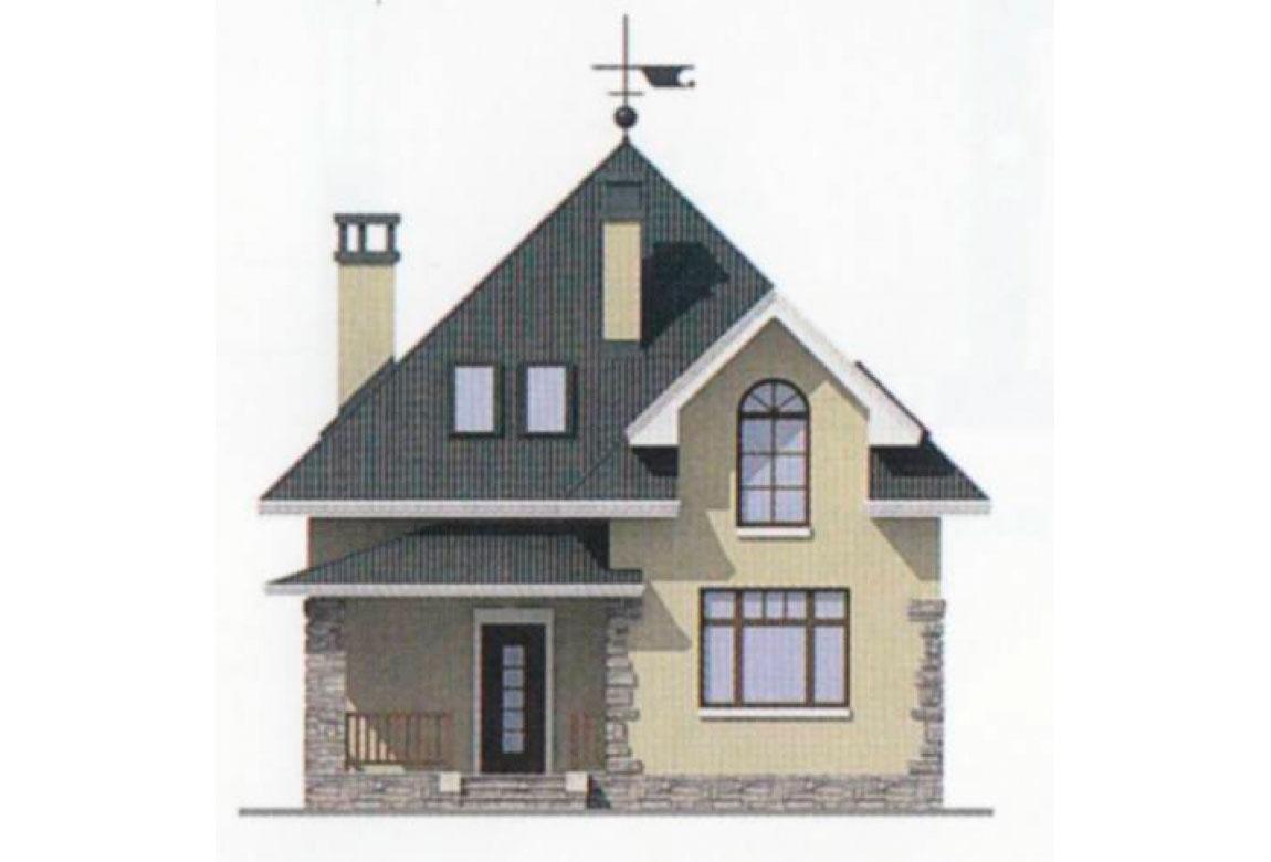 Проект дома из блоков АСД-1110 (uploads/gss/goods/110/big_4.jpg).