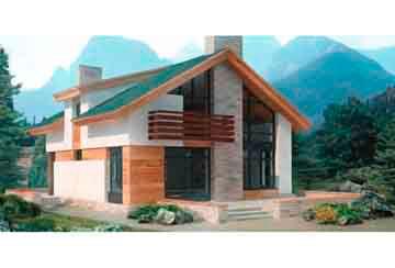 Проект дома из блоков АСД-1111