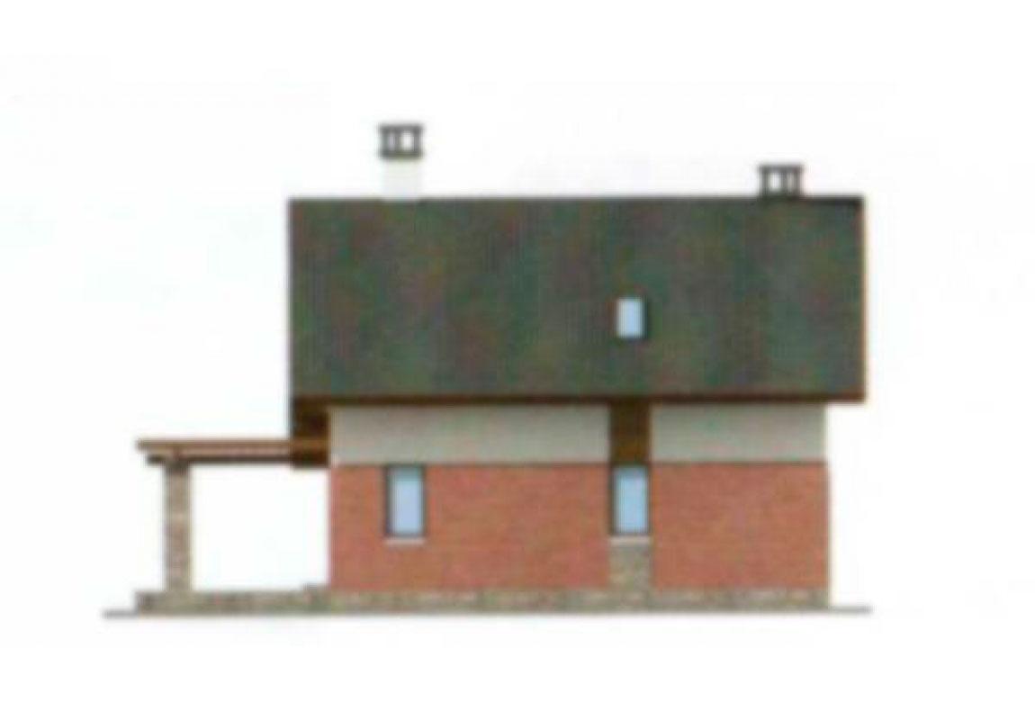 Проект дома из блоков АСД-1112 (uploads/gss/goods/112/big_4.jpg).