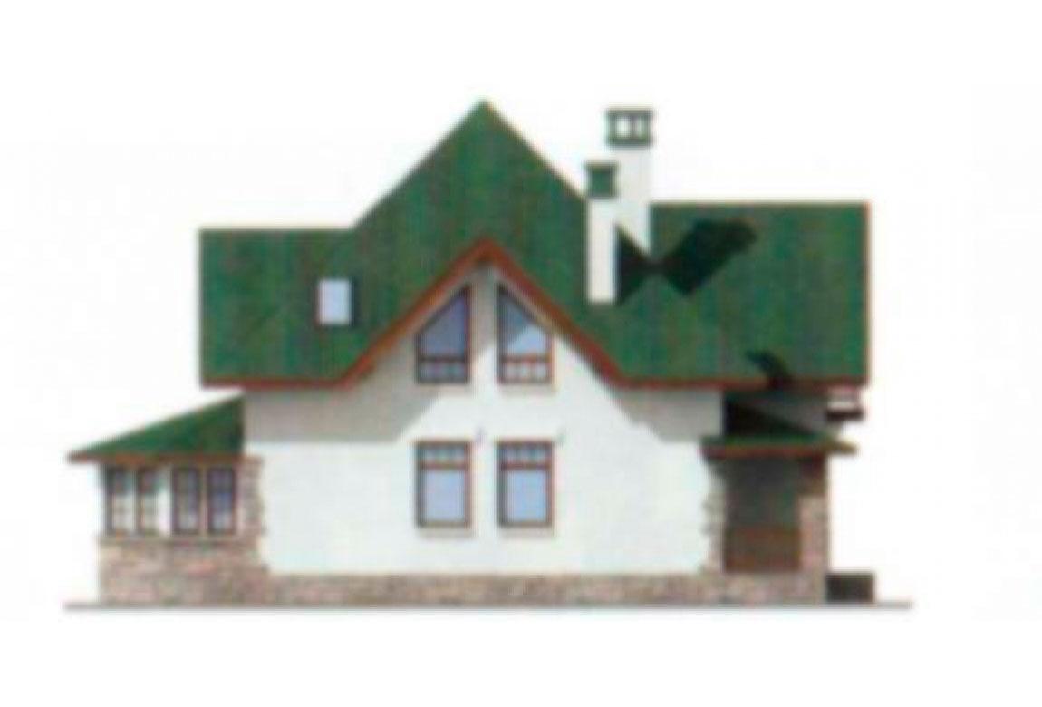 Проект дома из блоков АСД-1113 (uploads/gss/goods/113/big_4.jpg).