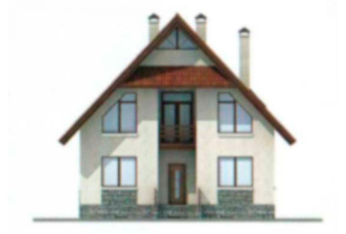 Проект дома из блоков АСД-1115 (uploads/gss/goods/115/big_5.jpg).