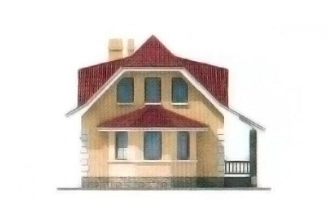 Проект дома из блоков АСД-1117 (uploads/gss/goods/117/big_4.jpg).