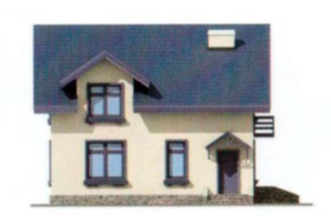 Проект дома из блоков АСД-1119 (uploads/gss/goods/119/big_2.jpg).
