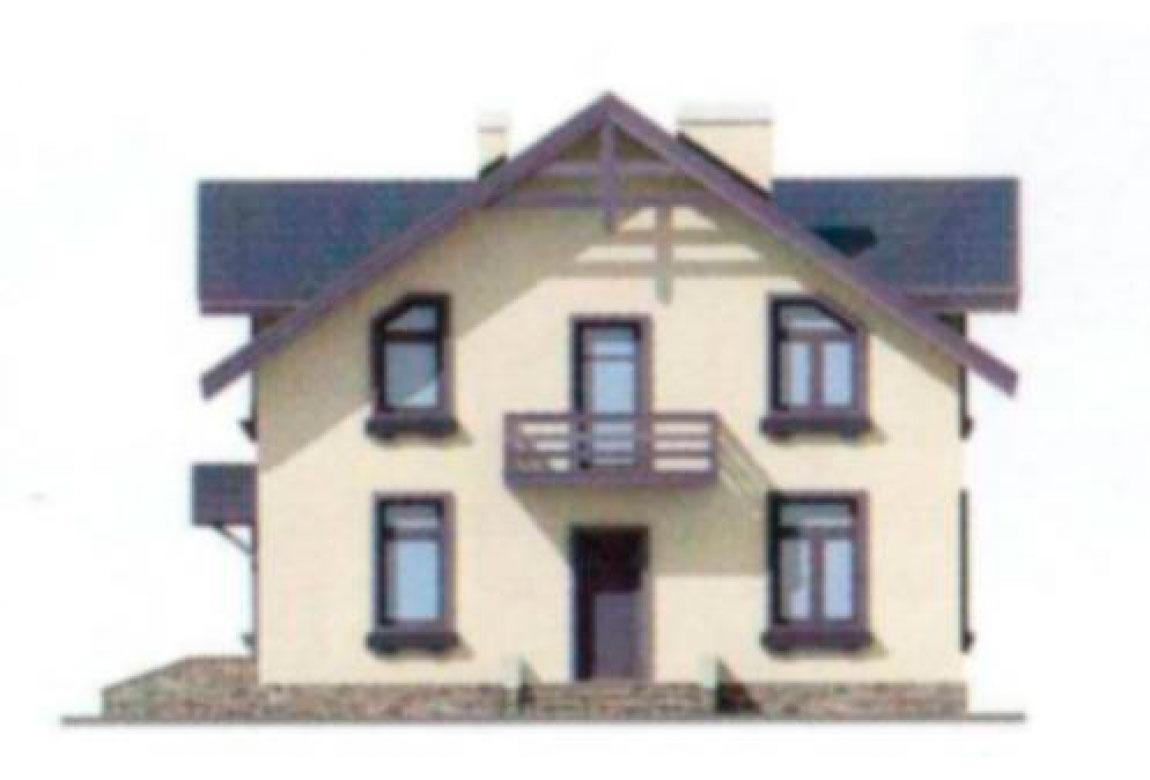 Проект дома из блоков АСД-1119 (uploads/gss/goods/119/big_5.jpg).