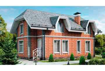 Проект кирпичного дома АСД-1012