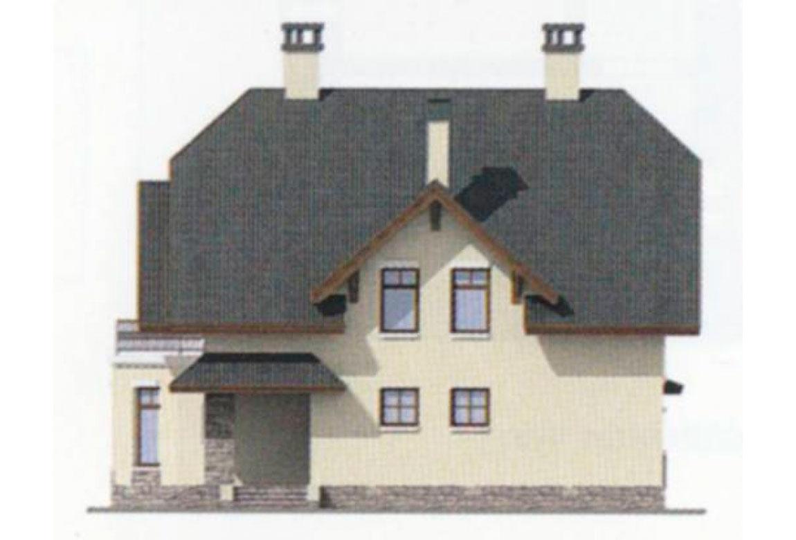 Проект дома из блоков АСД-1121 (uploads/gss/goods/121/big_5.jpg).