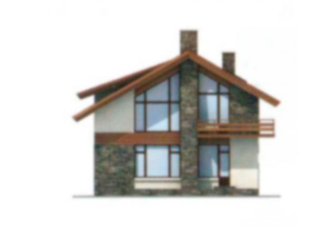 Проект дома из блоков АСД-1124 (uploads/gss/goods/124/big_4.jpg).