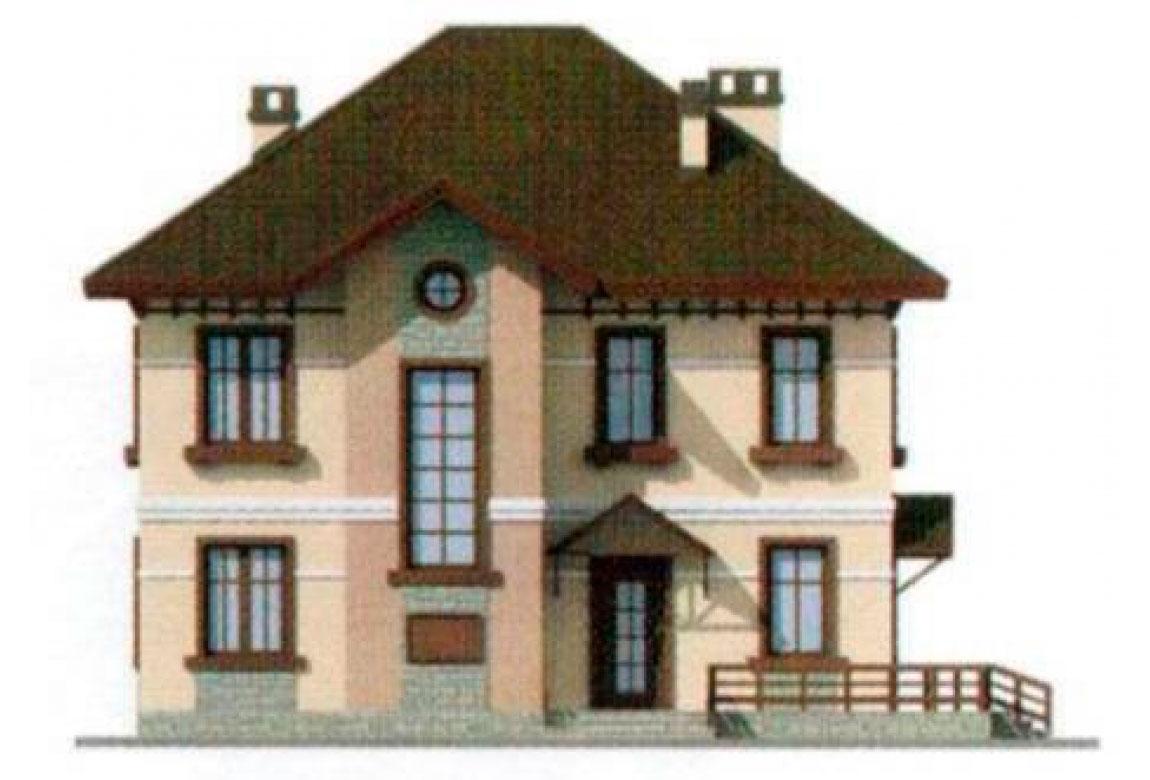 Изображение uploads/gss/goods/127/big_4.jpg к проекту дома из блоков АСД-1127