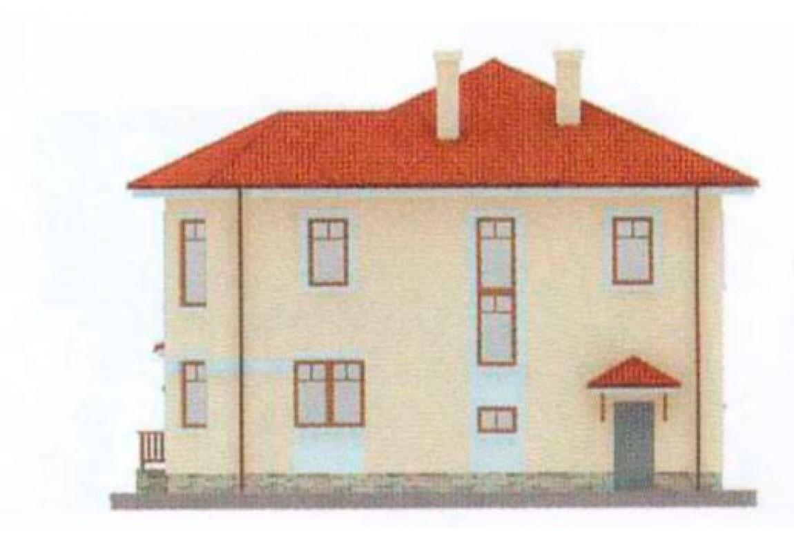Проект дома из блоков АСД-1128 (uploads/gss/goods/128/big_4.jpg).