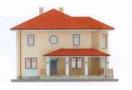 Проект дома из блоков АСД-1128 (uploads/gss/goods/128/thumb_2.jpg).