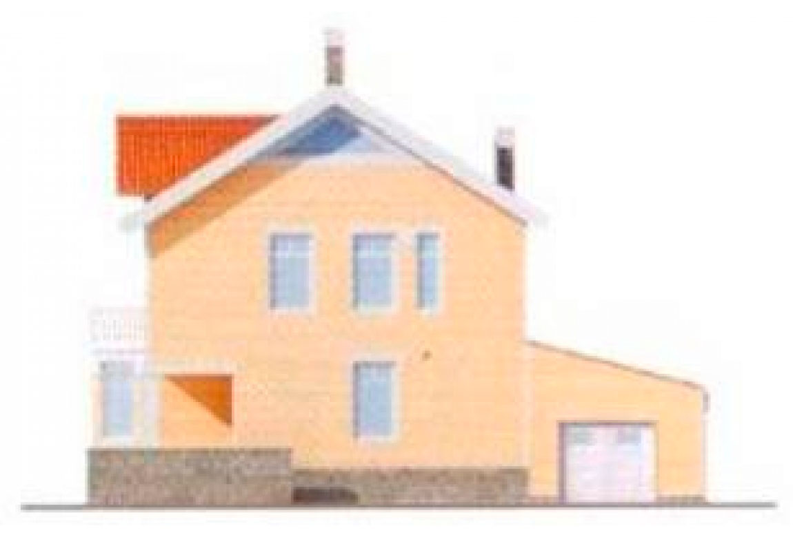 Проект дома из блоков АСД-1129 (uploads/gss/goods/129/big_2.jpg).