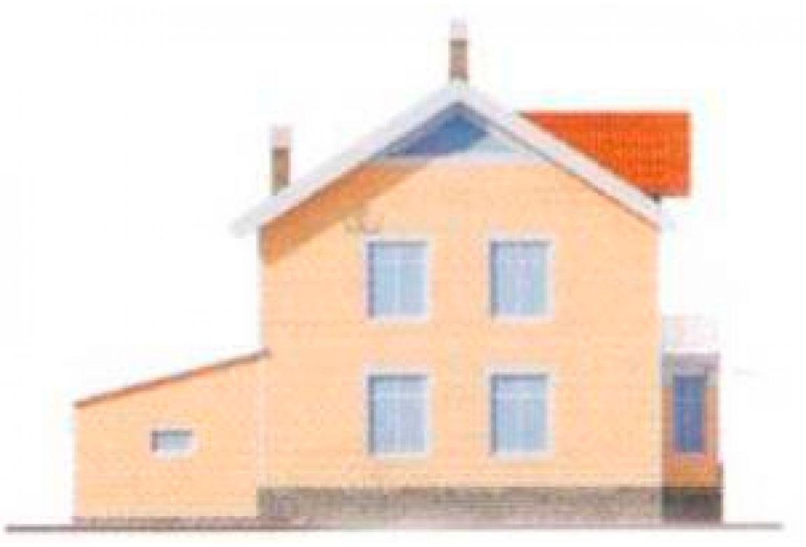 Проект дома из блоков АСД-1129 (uploads/gss/goods/129/big_4.jpg).